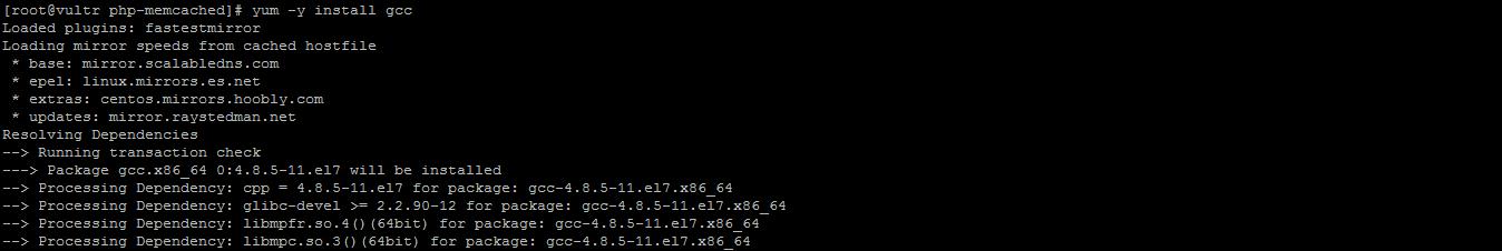 在VULTR VPS的centos 7.3 64位上解决configure提示没有可用编译器的问题 no acceptable C compiler
