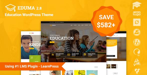 WordPress教育英文主题 Education WP v3.1.9.1 免费下载