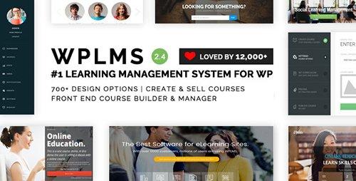 WPLMS v2.5.0 WordPress课程教学教育英文主题 免费下载