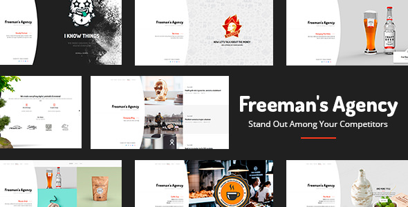 WORDPRESS灵活布局主题 Freeman v1.0.4 免费下载