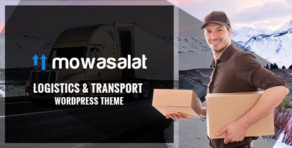 WordPress物流与运输主题  Mowasalat v1.3 免费下载