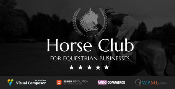 WordPress马术俱乐部主题  Horse Club v1.8 免费下载