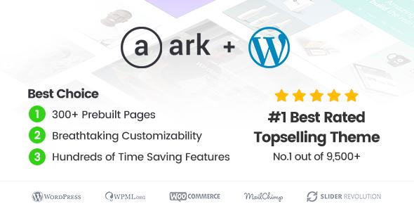 WordPress自由职业主题 The Ark v1.31.0 免费下载