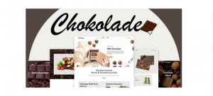 Chokolade Chocolate Sweets Candy And Cake Shopify Theme