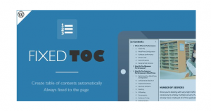 Fixed-TOC-table-of-contents-for-WordPress-plugin