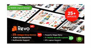Revo - Multipurpose WooCommerce WordPress Theme