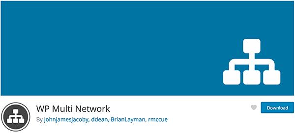 WP Multi Network Plugin