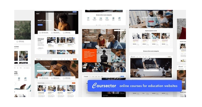 Coursector-LMS-Education-WordPress
