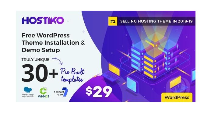 Hostiko-WordPress-WHMCS-Hosting-Theme