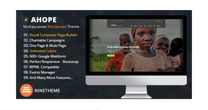 Nonprofit-WordPress-Theme-Ahope