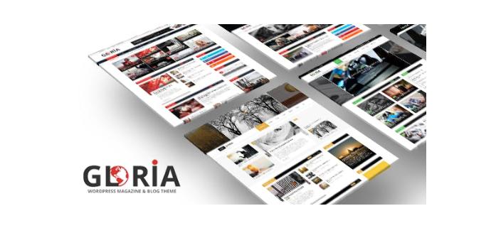 Gloria-Multiple-Concepts-Blog-Magazine-WordPress-Theme